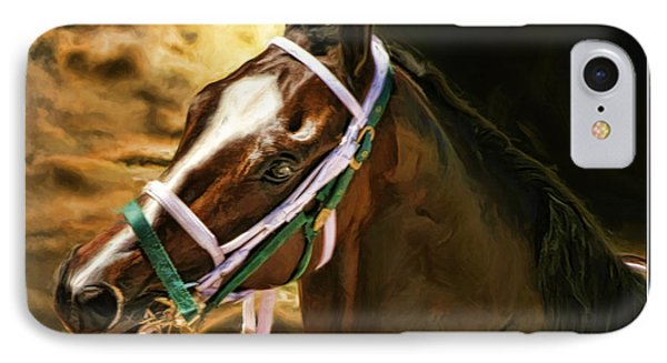 Horse Last Memories Phone Case by Blake Richards