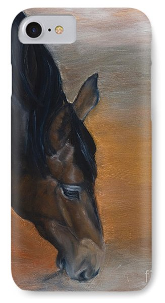 horse - Lily IPhone Case by Go Van Kampen