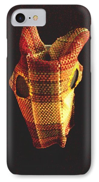 Native American Horse Mask IPhone Case by Stacy C Bottoms