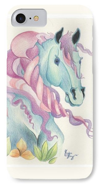 Horse Of A Different Colour Phone Case by Kirsten Slaney