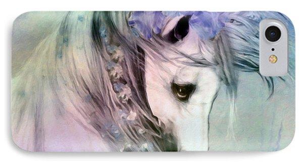 Horse Of Love IPhone Case by Georgiana Romanovna