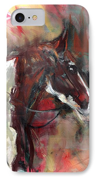 Horse Of The Past IPhone Case by John Jr Gholson