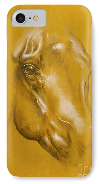 Horse Portrait Phone Case by Tamer and Cindy Elsharouni