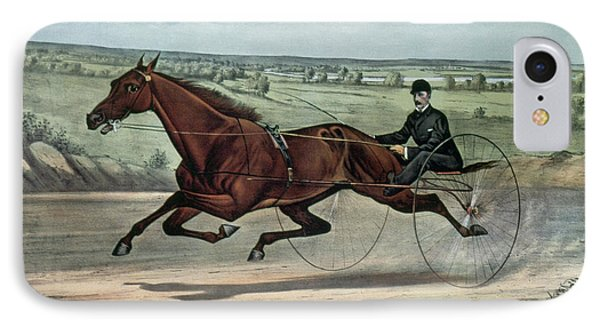 Horse Racing, 1880 IPhone Case by Granger