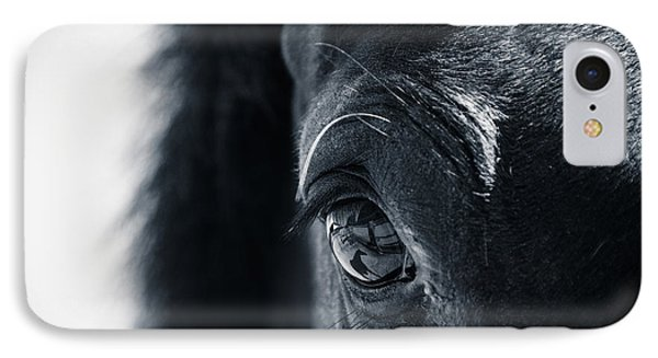 Horse Reflection IPhone Case by Michele Wright