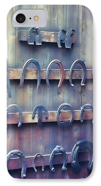 Horse Shoes IPhone Case by JAMART Photography