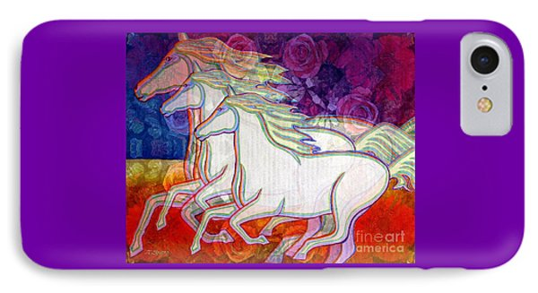 Horse Spirits Running IPhone Case
