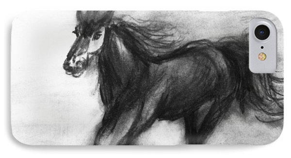 Horse Study 2 IPhone Case