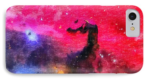 Horsehead Nebula IPhone Case by Dan Sproul
