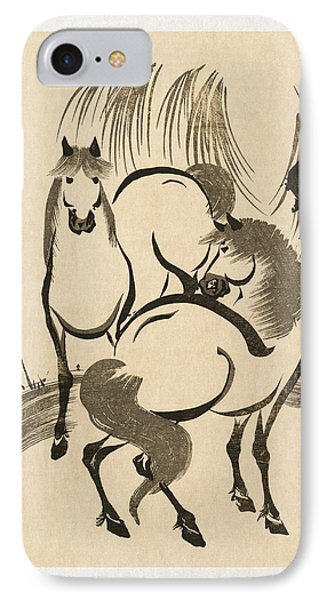 Horses IPhone Case by Aged Pixel
