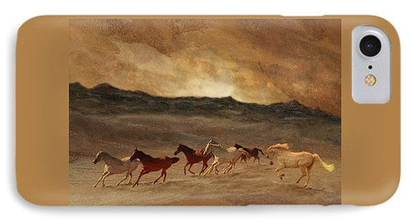 Horses Of Stone IPhone Case