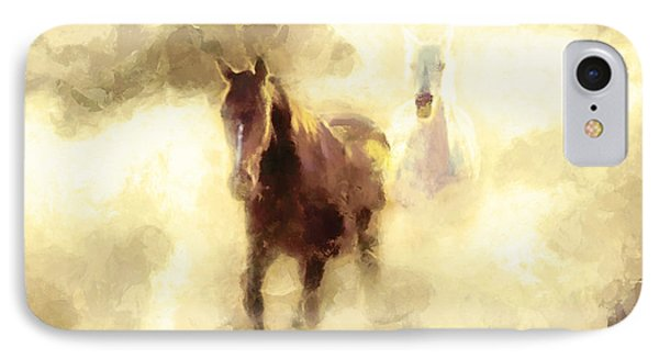 Horses Of The Mist IPhone Case