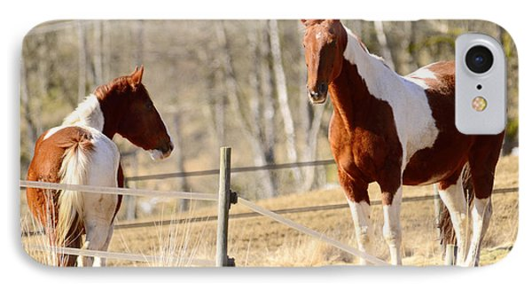 Horses Posing IPhone Case by Tommytechno Sweden