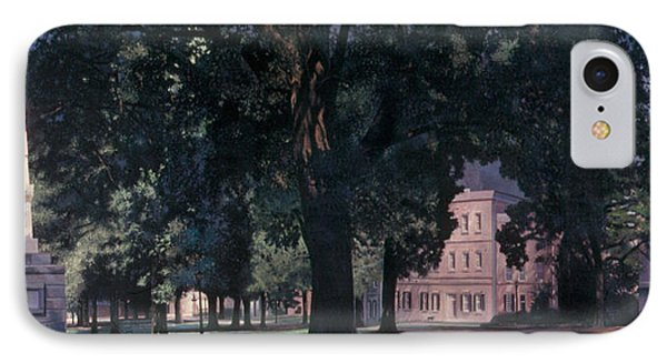 Horseshoe At University Of South Carolina Mural IPhone Case by Blue Sky