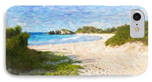 Horseshoe Bay In Bermuda IPhone Case by Verena Matthew