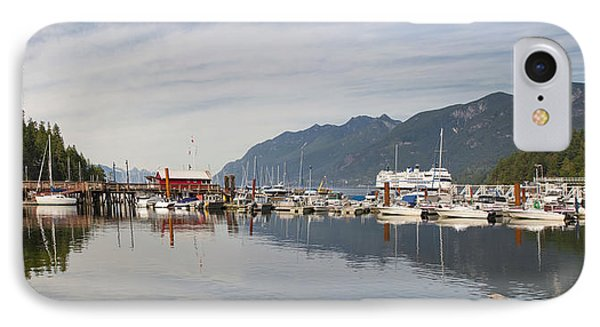 IPhone Case featuring the photograph Horseshoe Bay Vancouver Bc Canada by JPLDesigns