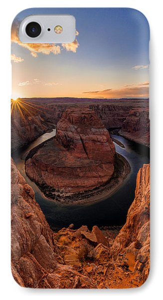 Horseshoe Bend Phone Case by Chad Dutson