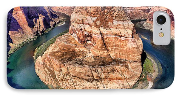 IPhone Case featuring the photograph Horseshoe Bend In Arizona by Mitchell R Grosky