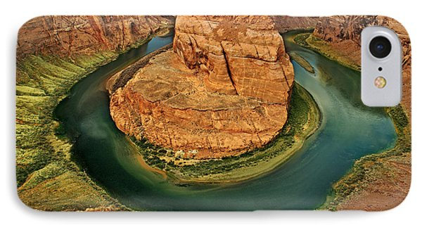 IPhone Case featuring the photograph Horseshoe Bend by Roman Kurywczak