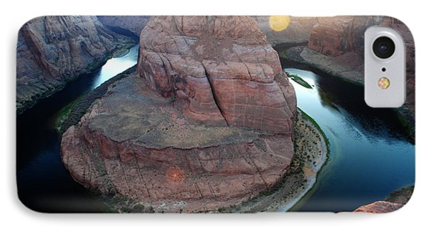 Horseshoe Bend Sunset IPhone Case by Robert  Moss