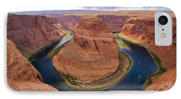 Horseshoe Bend View 1 IPhone Case by David Beebe