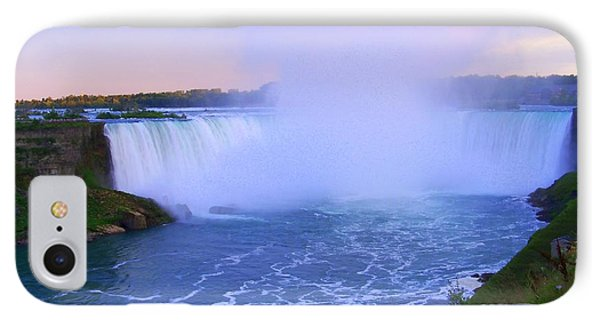 Horseshoe Falls Sunset In The Summer IPhone Case by Lingfai Leung