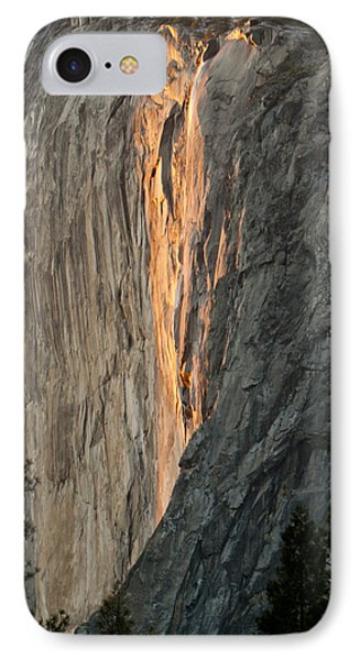 Horsetail Falls Sunset Phone Case by Patricia Sanders