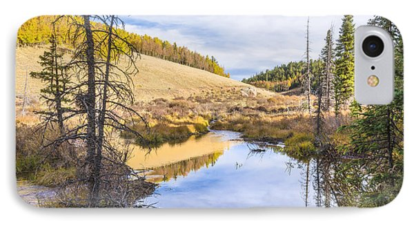 Horsethief Creek Beaver Pond - Cripple Creek Colorado Phone Case by Brian Harig