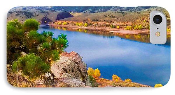 Horsetooth Lake Overlook Phone Case by Jon Burch Photography