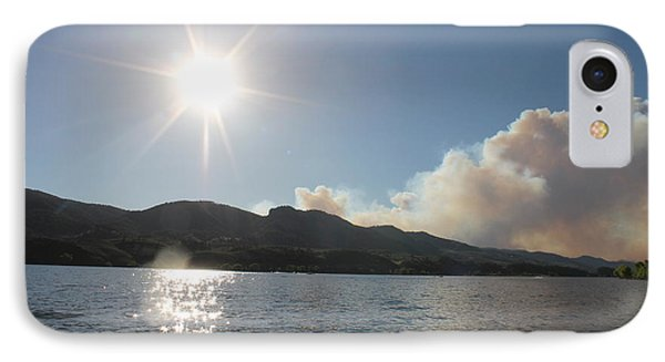 Horsetooth Wildfire IPhone Case by Holly OBriant