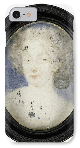 Hortense Mancini, 1639-1715, Duchess Of Mazarin IPhone Case by Litz Collection
