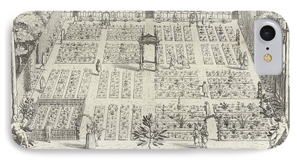 Hortus Botanicus Of Leiden University, The Netherlands IPhone Case by Willem Isaacsz. Van Swanenburg And Andries Clouck