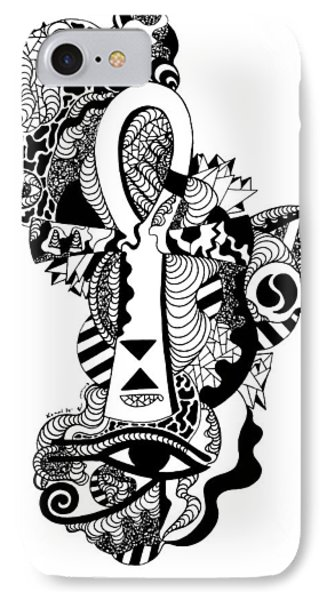 Horus Ankh IPhone Case