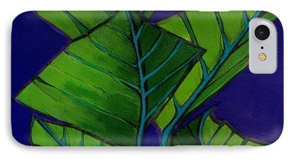 Hosta Blue Tip Two IPhone Case