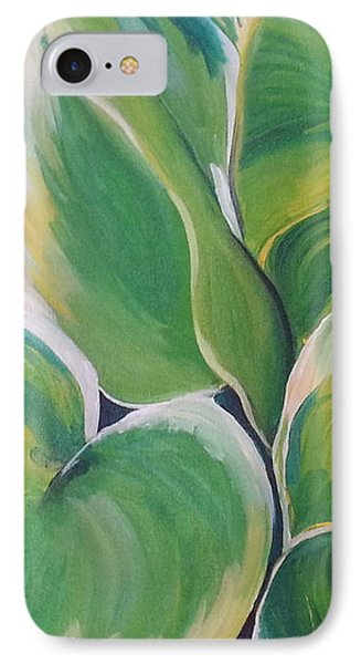 Hosta Garden IPhone Case