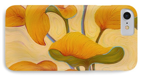 IPhone Case featuring the painting Hosta Hoofin' by Sandi Whetzel