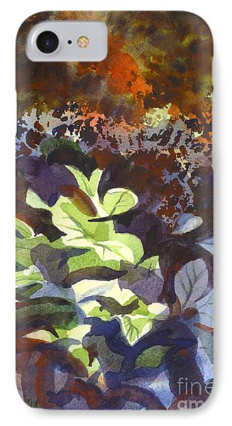 Hostas In The Forest Phone Case by Kip DeVore