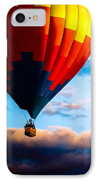 Hot Air Balloon And Powered Parachute Phone Case by Bob Orsillo