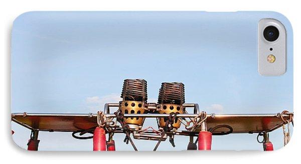 Hot Air Balloon Burners IPhone Case by Tom Gowanlock
