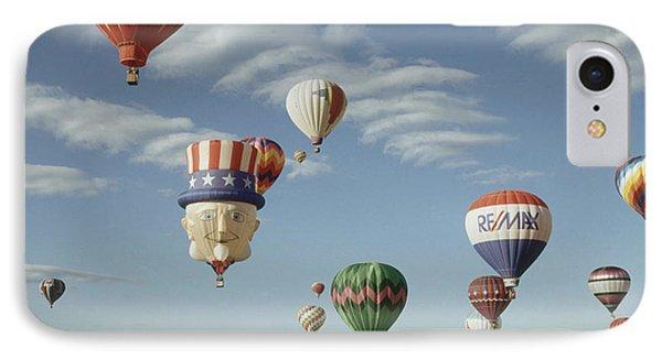 Hot Air Balloon Phone Case by Jim Steinberg