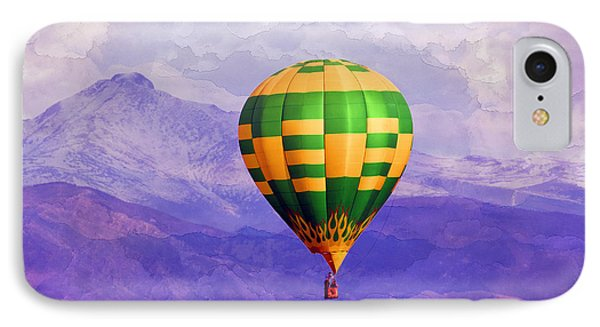 Hot Air Balloon IPhone Case by Juli Scalzi