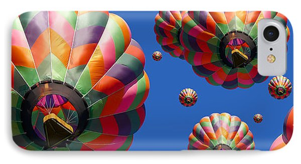 Hot Air Balloon Panoramic IPhone Case