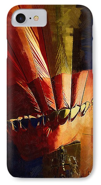 Hot Air Balloon Ready To Go IPhone Case by Kirt Tisdale