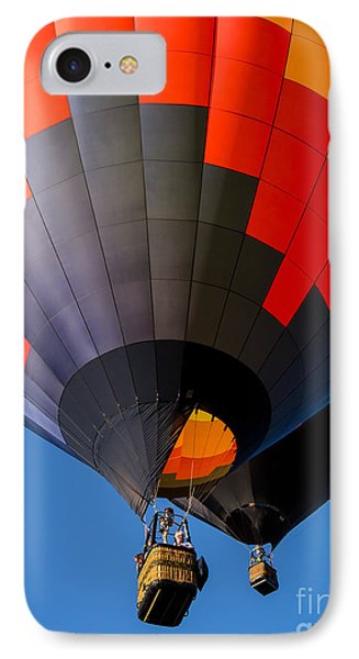 Hot Air Ballooning IPhone Case by Edward Fielding