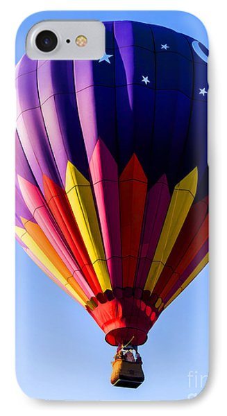 Hot Air Ballooning In Vermont Phone Case by Edward Fielding