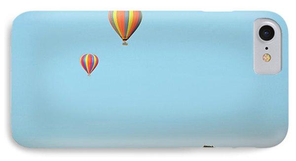 Hot Air Balloons Over Masai Mara IPhone Case by Bildagentur-online/mcphoto-schulz