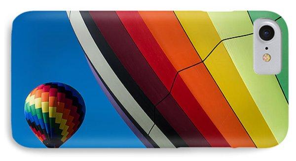 Hot Air Balloons Quechee Vermont IPhone Case by Edward Fielding
