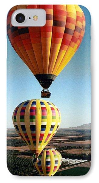 Balloon Stacking IPhone Case by Richard Engelbrecht