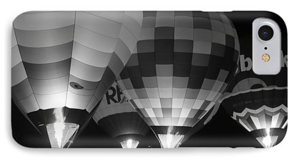 Hot Air Balloons IPhone Case by Robert  Aycock