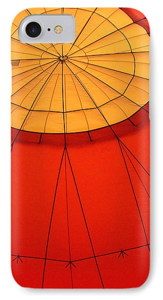 Hot Air Balloon At Dawn Phone Case by Art Block Collections